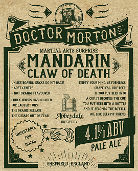 Dr Morton's Mandarin Claw of Death 4.1%%