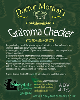 Dr Morton's Gra'mma Checker 4.1%%