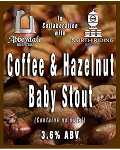 Coffee & Hazelnut Baby Stout 3.6%