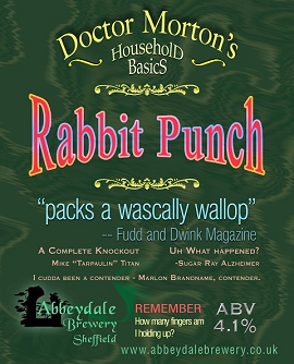 Dr Morton's Rabbit Punch 4.1%%