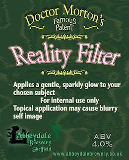 Dr Morton's Reality Filter 4.0%%
