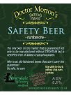 Dr Morton's Safety Beer  4.1%%