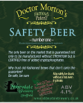 Dr Morton's Safety Beer  4.1%