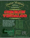Dr Morton's Chicken Vindaloo 4.1%