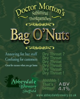 Dr Morton's Bag O' Nuts 4.1%%