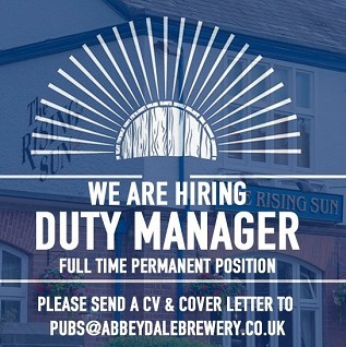 Duty Manager required Image