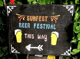Sunfest 2018... The Beer List! Image