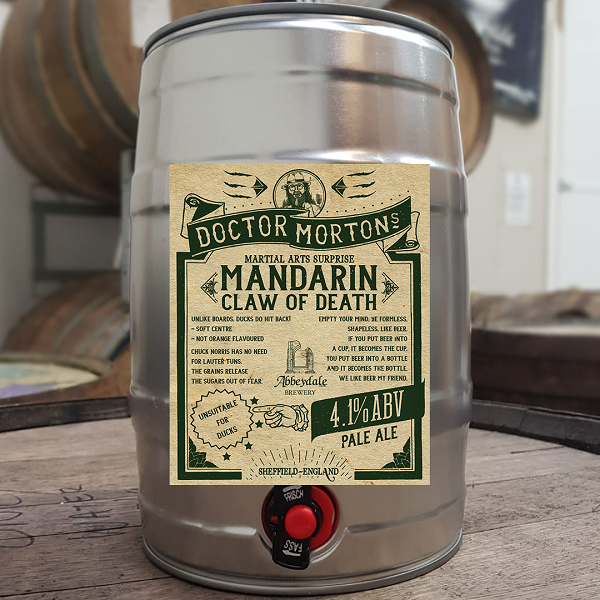 Dr. Morton's Mandarin Claw of Death - 4.1%