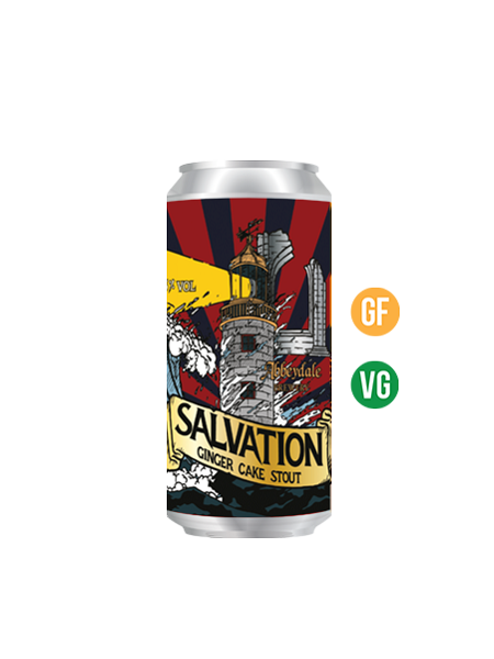 Salvation Ginger Cake Stout - 5.5%
